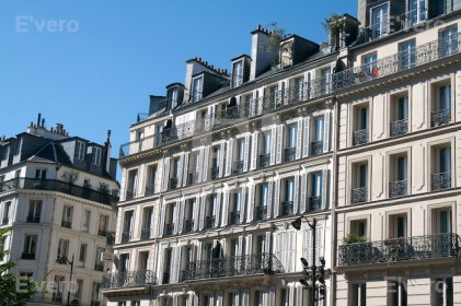 Immeubles de style Haussmann, Paris